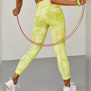 New free People movement tie dye leggings xs/s